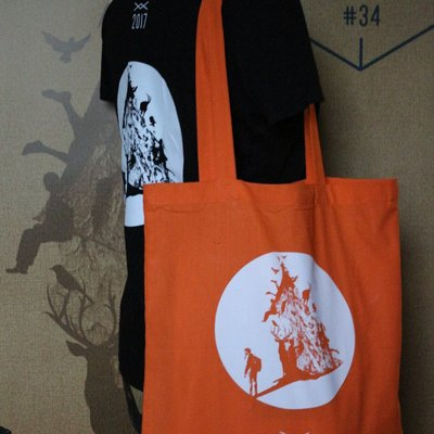 Tote Bag orange festival